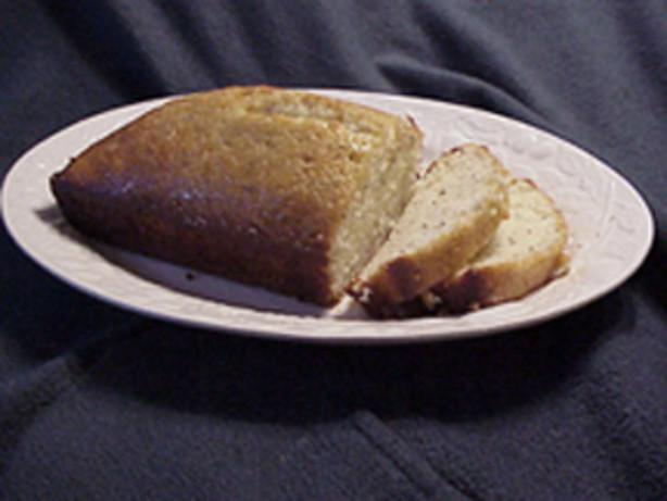 Cheryls Poppy Seed Bread With Glaze Recipe - Food.com