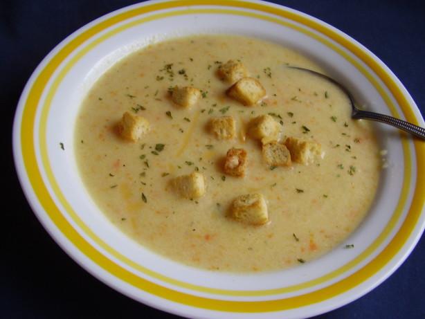 Cream Of Cauliflower And Cheddar Soup Recipe - Food.com