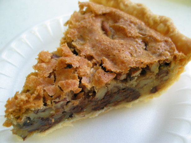 Recipe For Chocolate Chip Pie By Toll House