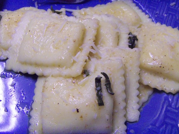 Ravioli With Brown Butter And Sage Sauce Recipe - Food.com