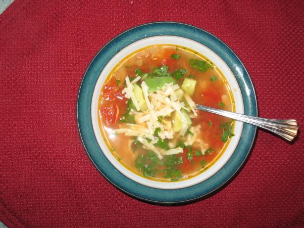 Mexican Tortilla Chicken Soup Recipe - Food.com