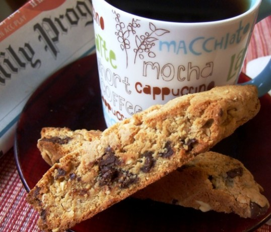 Peanut Butter And Chocolate Biscotti Recipe - Food.com