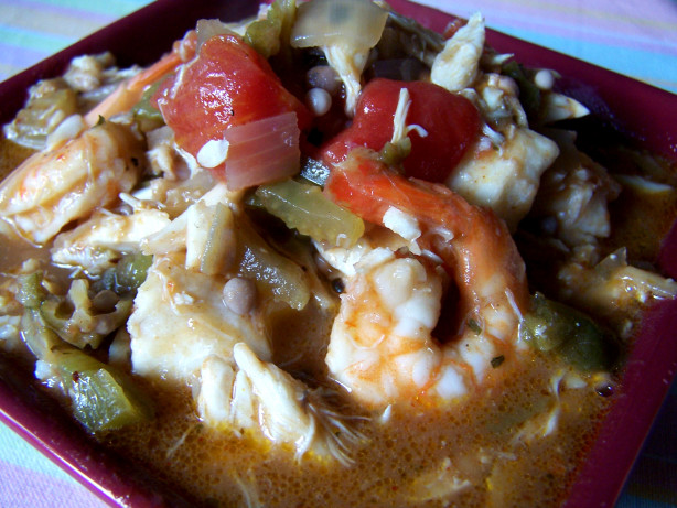 Shrimp And Okra Gumbo Recipe - Soul.Food.com