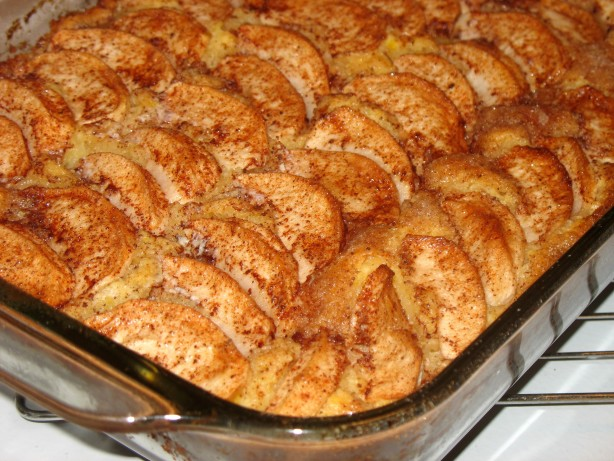 Yellow Cake Mix Apple Kuchen
