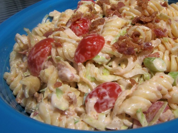 BLT Macaroni Salad Recipe - Healthy.Food.com
