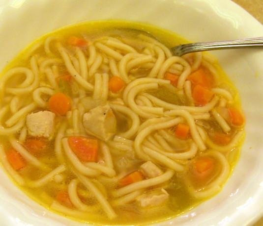 Simple Chicken Soup Recipe: Quick Chicken Noodle Soup Recipe