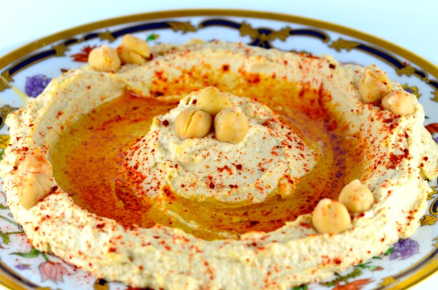 Creamy Roasted Garlic Hummus Recipe - Food.com