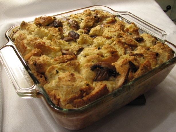 Wild-Mushroom Bread Pudding Recipe - Food.com