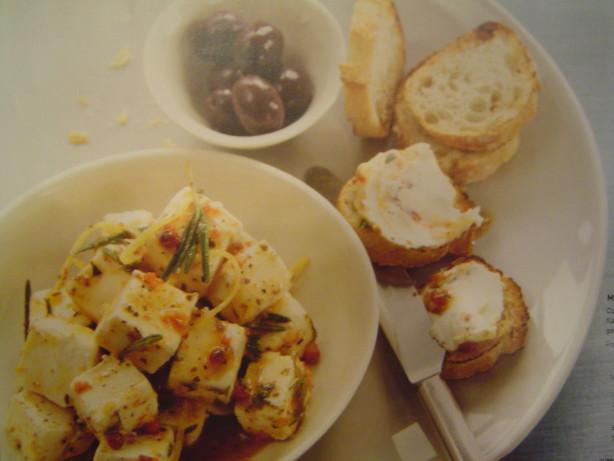 Mediterranean Marinated Cheese Recipe - Food.com