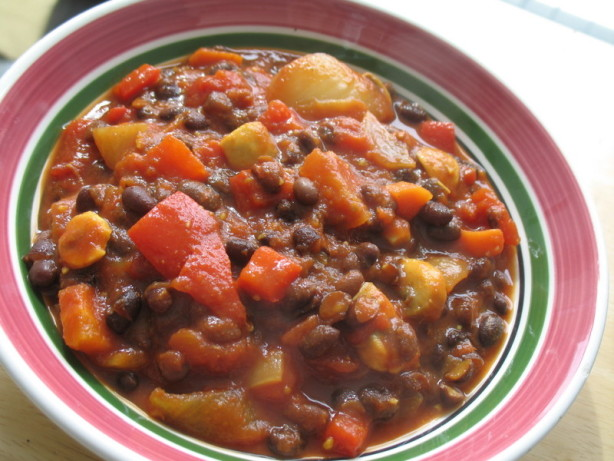 Vegetarian Black Bean Chili Recipe - Low-cholesterol.Food.com