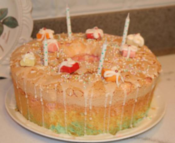 Lemon Angel Food Cake - Barefoot Contessa - Ina Garten Recipe - Food ...