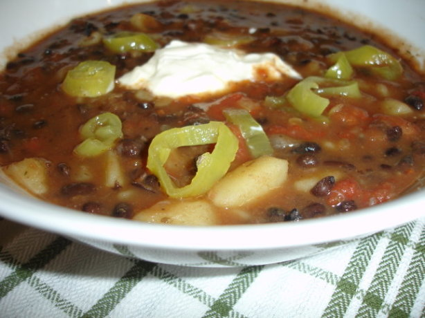 Vegetarian Black Bean Soup Recipe - Food.com