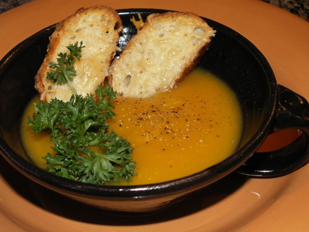 Butternut Squash Leek Soup Recipe - Food.com