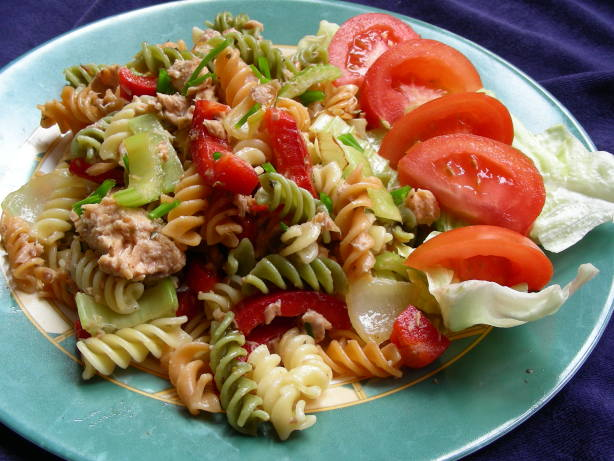 Salmon Pasta Salad Recipe - Food.com