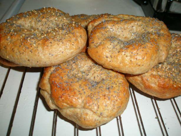 bagel dough bread machine