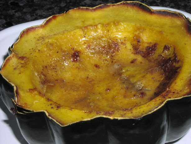 Maple Roasted Acorn Squash Recipe — Dishmaps