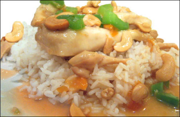 Apricot Chicken With Cashews Recipe - Food.com