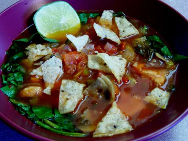 Chicken Lime Vegetable Soup Recipe - Food.com