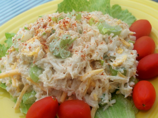 Simple Healthier Seafood Salad Recipe - Food.com