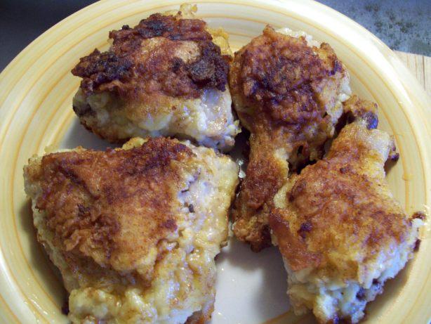 Extra-Crispy Fried Chicken Recipe - Food.com