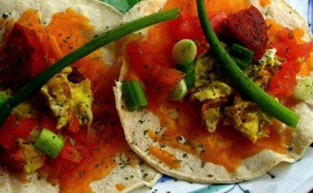 Chorizo And Scrambled Egg Breakfast Tacos Recipe - Food.com
