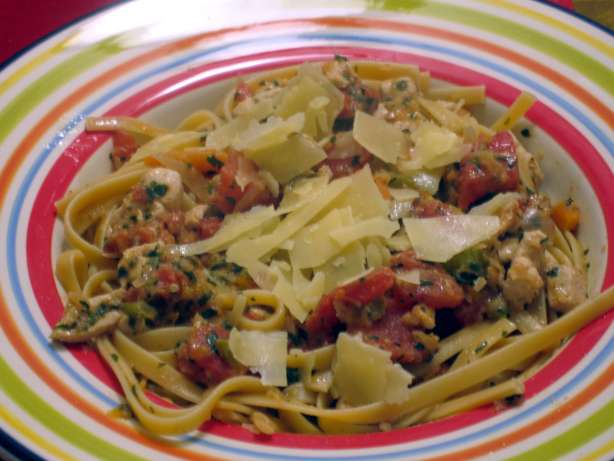 Spaghetti With Chicken Bolognese Sauce Recipe - Food.com