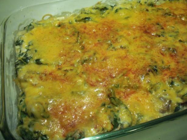 spinach recipes casserole