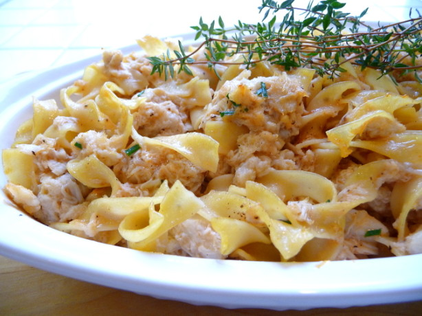 Grown-Up Tuna Now Crab) Casserole Recipe - Food.com