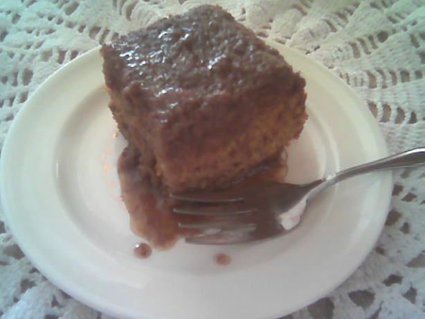 Toffee Cake With Caramel Sauce Recipe Food Com