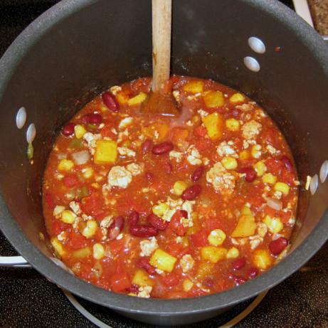 Butternut Squash And Turkey Chili Recipe - Food.com