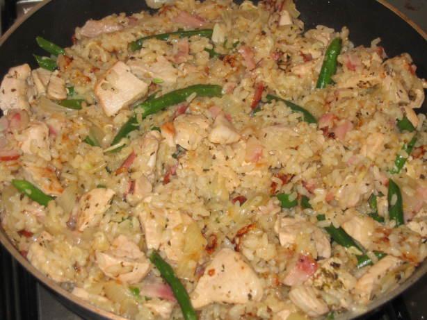 Quick chicken risotto recipe for Ham risotto recipe