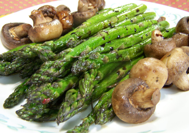 How To Cook Asparagus And Mushrooms In Oven