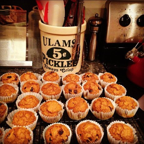 Gram Fat Pumpkin Spice Muffins Low Fat) Recipe - Food.com