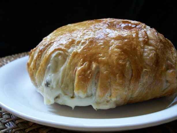 Mushroom Stuffed Brie En Croute Recipe - Food.com