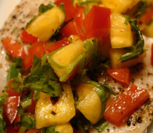 Mahi-Mahi With Fresh Pineapple Salsa Recipe - Food.com