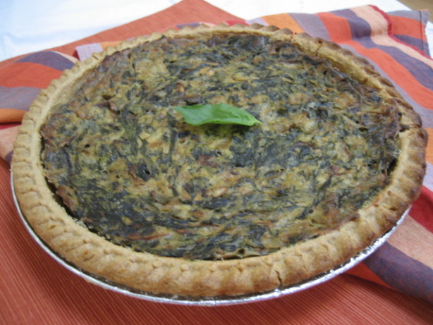 Dizs best spinach quiche ever vegan recipe for The best quiche ever
