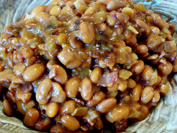 Spicy Maple Baked Beans Recipe - Food.com