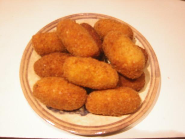 Deep Fried Potatoes Potato Croquettes Deep Fried