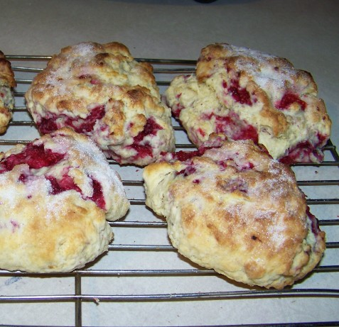 Mimis Raspberry Scones Recipe - Food.com