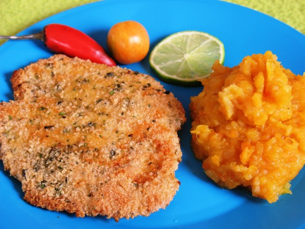 Herb crusted fish fillets recipe for What to serve with fish fillets