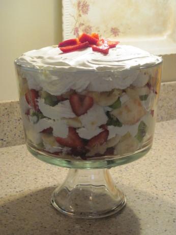 Fantastic Strawberry Banana Trifle Recipe Food Com