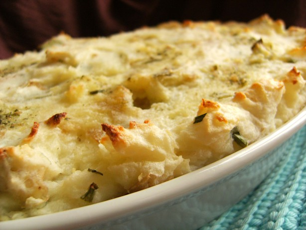 Mashed Potato, Cheese And Chive Gratin Recipe - Food.com