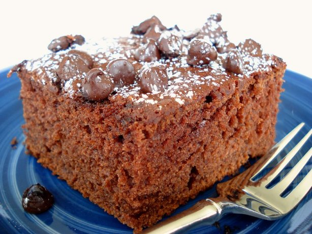Chocolate Chip Applesauce Cake - Super Moist! Recipe - Food.com