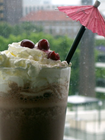 cake black forest shake recipe myrecipes com black forest shake black ...