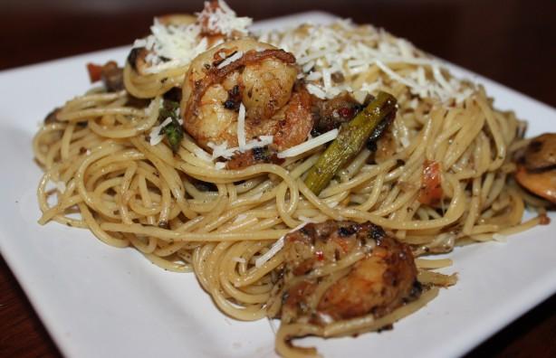 Angel Hair Pasta W Shrimp And Asparagus For 2 Recipe - Food.com