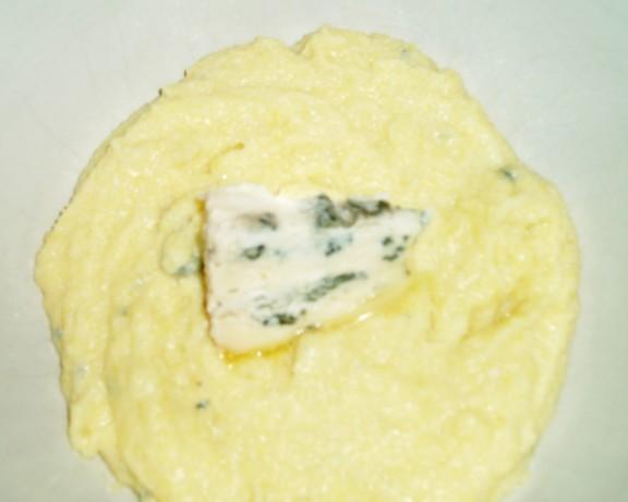 Creamy Blue Cheese Polenta Recipe - Food.com