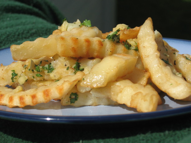 Easy Garlic Fries Recipe - Food.com