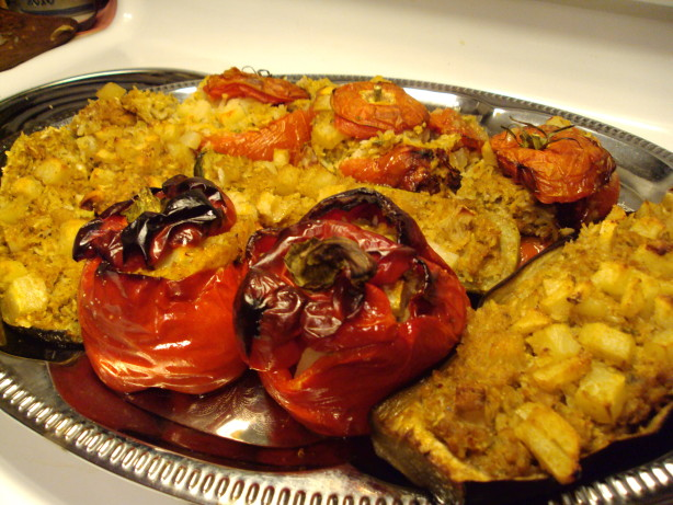 recipe mums yemista greek stuffed vegetables with rice