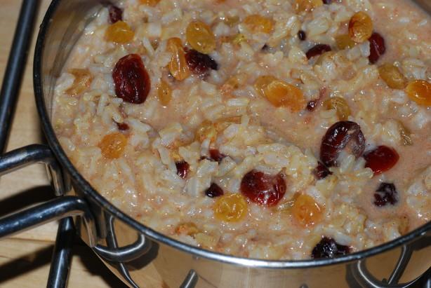 Creamy Brown Rice Pudding Recipe - Food.com