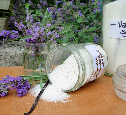 French Lavender And Vanilla Sugar For Elegant Cakes And Bakes Recipe ...